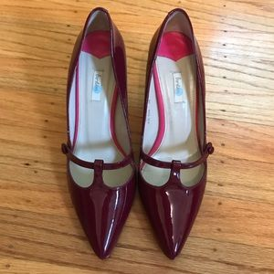 Boden T-Strap Pointed Toe Heels, size 38